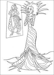 plansa de colorat 102 dalmatieni de colorat p20