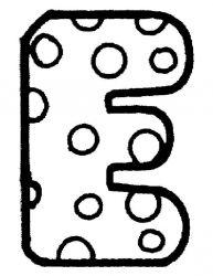 plansa de colorat alfabetul de colorat p05