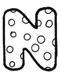 plansa de colorat alfabetul de colorat p14