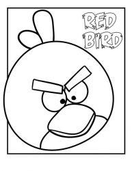 plansa de colorat angry birds de colorat p26