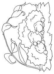 plansa de colorat animale arici de colorat p04