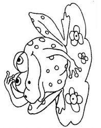 plansa de colorat animale broscute de colorat p29