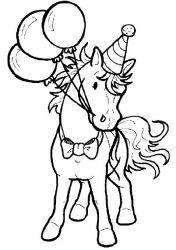 plansa de colorat animale cai de colorat p12