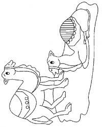 plansa de colorat animale dromaderi de colorat p03