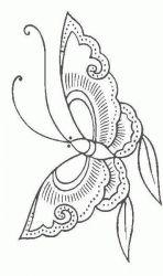 plansa de colorat animale fluturasi de colorat p18