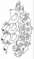 plansa de colorat animale gaste de colorat p07