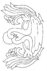 plansa de colorat animale lebede de colorat p04