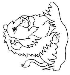 plansa de colorat animale lei de colorat p18