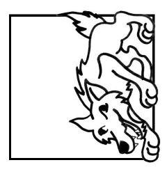 plansa de colorat animale lupi de colorat p22