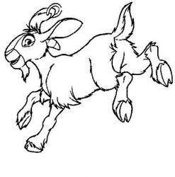 plansa de colorat animale oi de colorat p42