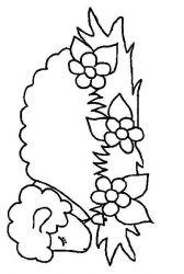 plansa de colorat animale oi de colorat p50