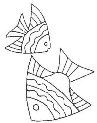 plansa de colorat animale pestisori de colorat p18