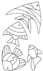 plansa de colorat animale pestisori de colorat p20