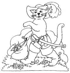 plansa de colorat animale pisici de colorat p20