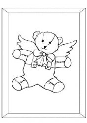 plansa de colorat animale ursuleti de colorat p13