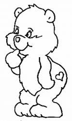 plansa de colorat animale ursuleti de colorat p130