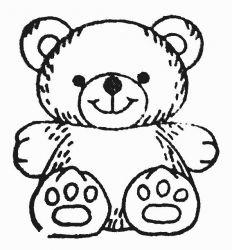 plansa de colorat animale ursuleti de colorat p134