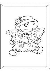 plansa de colorat animale ursuleti de colorat p14