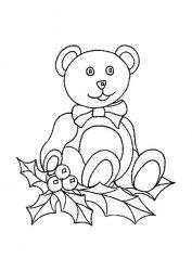 plansa de colorat animale ursuleti de colorat p25