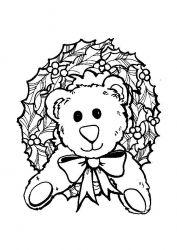 plansa de colorat animale ursuleti de colorat p27