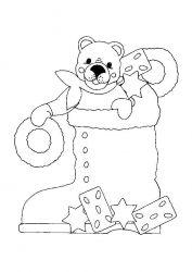 plansa de colorat animale ursuleti de colorat p28