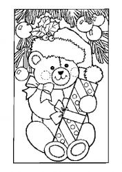 plansa de colorat animale ursuleti de colorat p30
