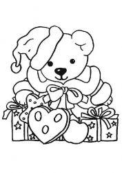 plansa de colorat animale ursuleti de colorat p31