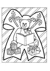 plansa de colorat animale ursuleti de colorat p34