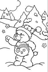 plansa de colorat animale ursuleti de colorat p40