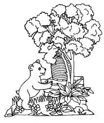 plansa de colorat animale ursuleti de colorat p51