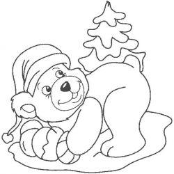 plansa de colorat animale ursuleti de colorat p64