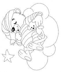plansa de colorat animale ursuleti de colorat p69