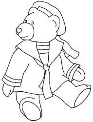 plansa de colorat animale ursuleti de colorat p70