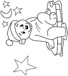 plansa de colorat animale ursuleti de colorat p83