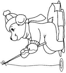 plansa de colorat animale ursuleti de colorat p87