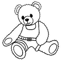 plansa de colorat animale ursuleti de colorat p90