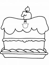 plansa de colorat aniversari de colorat p01
