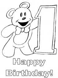 plansa de colorat aniversari de colorat p17