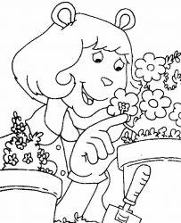 plansa de colorat arthur si prietenii sai de colorat p08