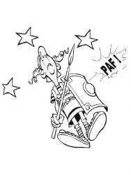 plansa de colorat asterix si obelix de colorat p16