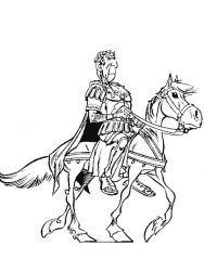 plansa de colorat asterix si obelix de colorat p31