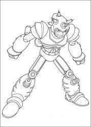 plansa de colorat astro boy de colorat p08