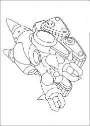 plansa de colorat astro boy de colorat p15