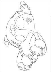 plansa de colorat astro boy de colorat p16