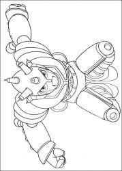 plansa de colorat astro boy de colorat p19