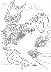 plansa de colorat atlantis de colorat p41