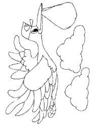 plansa de colorat bebelusi de colorat p34