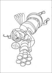plansa de colorat bee movie de colorat p03