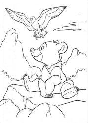 plansa de colorat brother bear de colorat p36