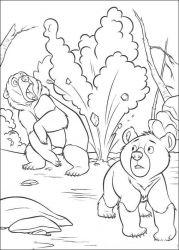 plansa de colorat brother bear de colorat p39